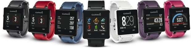 Garmin Sport vivoactive in verschiedenen Designs