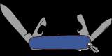 Taschenmesser blau