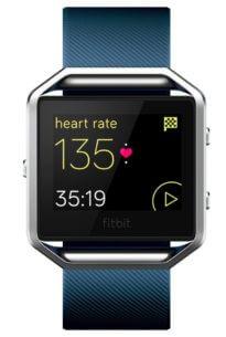 Produktbild Fitbit Blaze blau