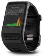 Anzeige Herzfrequenz-Verlauf bei der Garmin vivoactive HR Sport