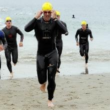 Triathlon mit Fitness-Uhr