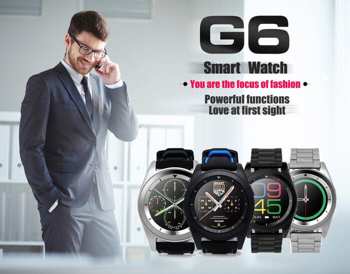 no 1 g6 kaufen smartwatch unter 30 euro mit. Black Bedroom Furniture Sets. Home Design Ideas