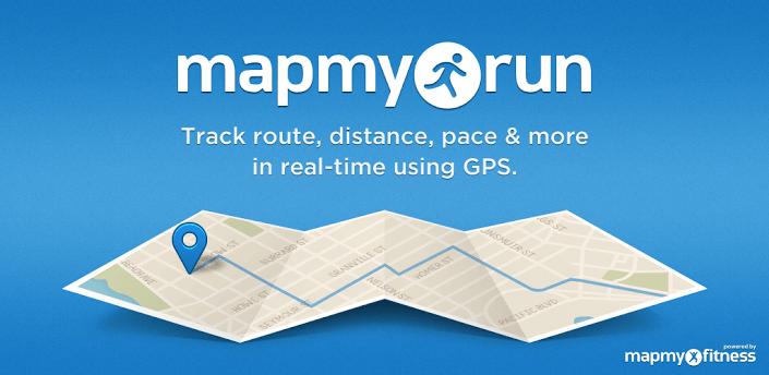 Map My Run Fitness-App für Smarches und Fitnessuhren Download Map My Run App on